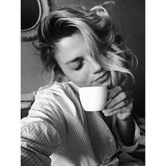 Emma Marrone loves her morning coffee