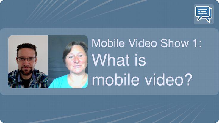 Mobile video show 1: What is mobile video? #Podcast - Mehr Infos zum Thema auch unter http://vslink.de/internetmarketing