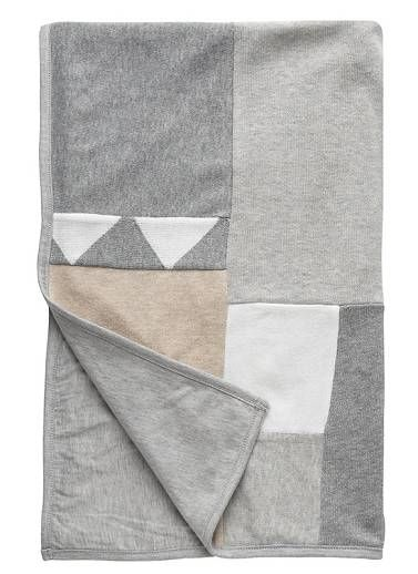 Seed 100% Cotton patchwork blanket.