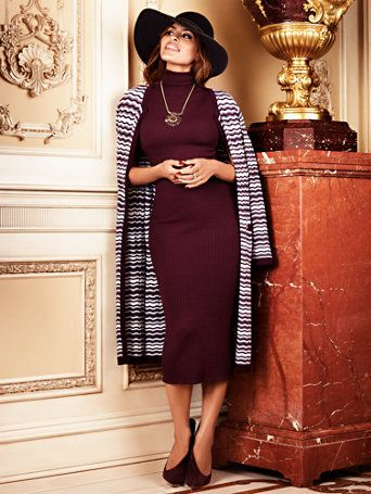 Eva Mendes Collection - Tali Sweater Dress