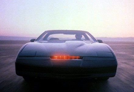 KITT (Knight Industries Two Thousand) from, Knightrider
