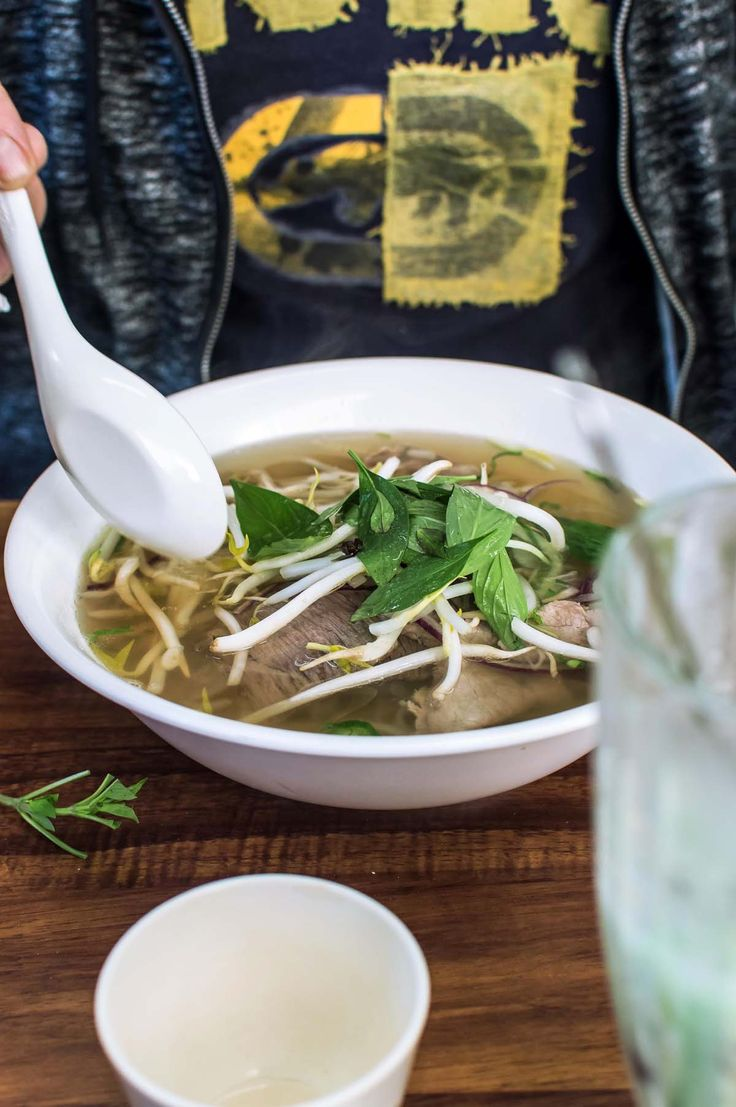 Beef pho at Tra Vinh, Inala | heneedsfood.com