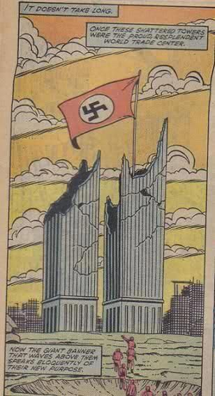 ❥ 1983 Marvel Comics, World Trade Center~ did you know the word 'occult' means 'hidden'? They tell us ahead of time what they're planning to do and it's called 'Hidden in Plain Sight'. It's right in front of our faces and we don't even see it. And, after it's done, people don't believe it, because it's just too insane to believe. Just how they like it.