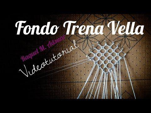 "Fondo de Torchón ""Trena Vella"". Encaje de Bolillos - YouTube"