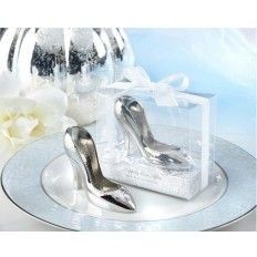 Happily Ever Slipper Shoe Bottle Opener Wedding Favour