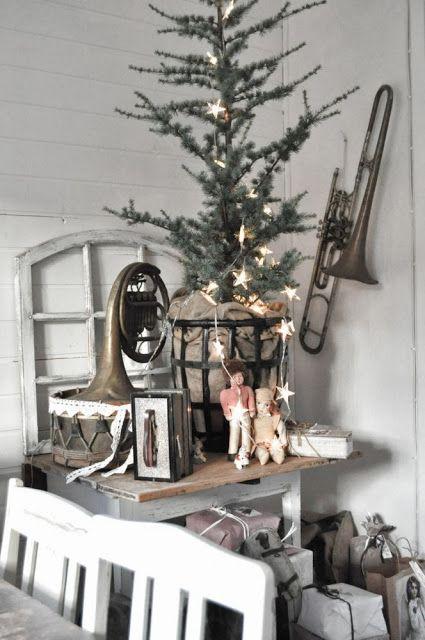 Inspiration i vitt: julgranen
