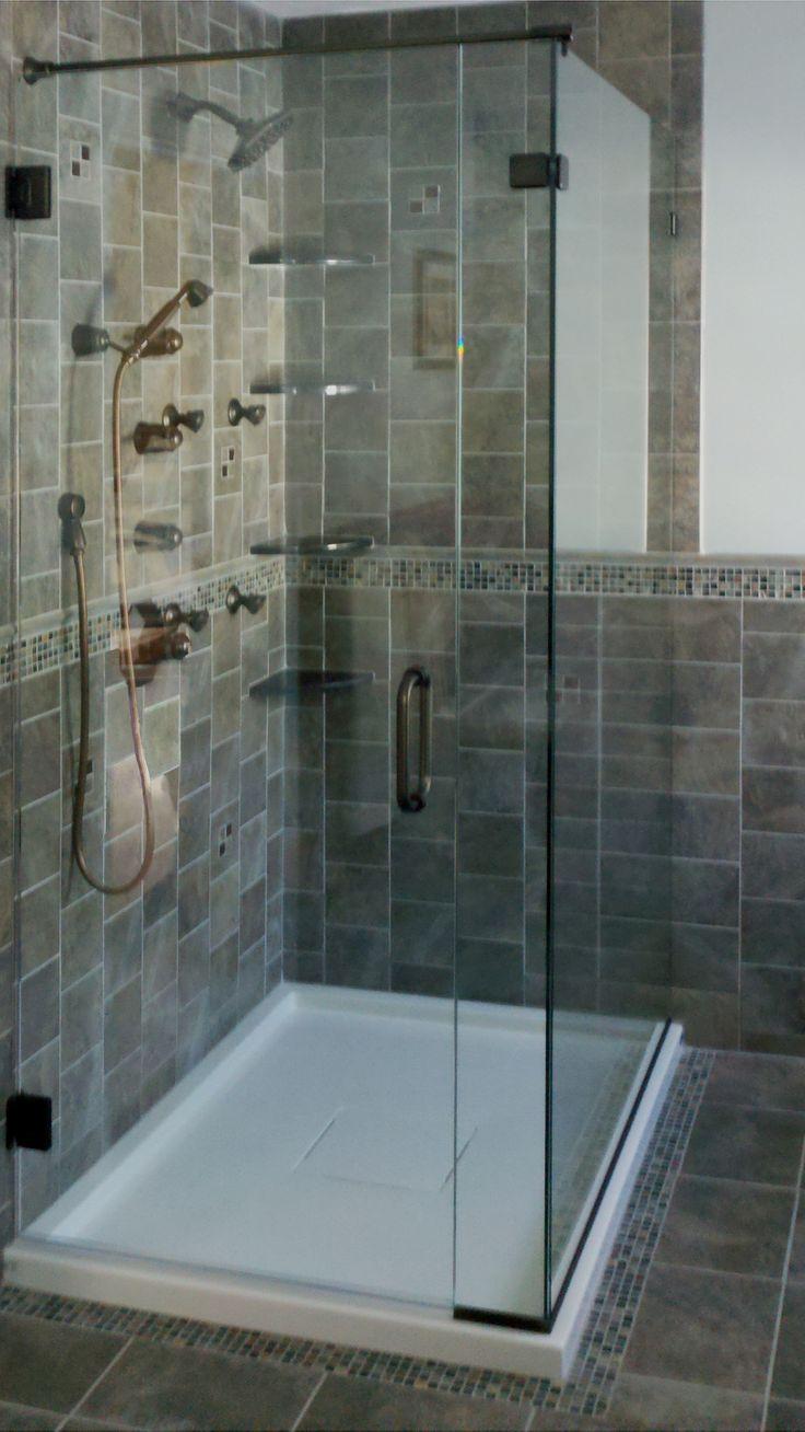 57 best Basco Door Installations images on Pinterest   Shower cabin ...