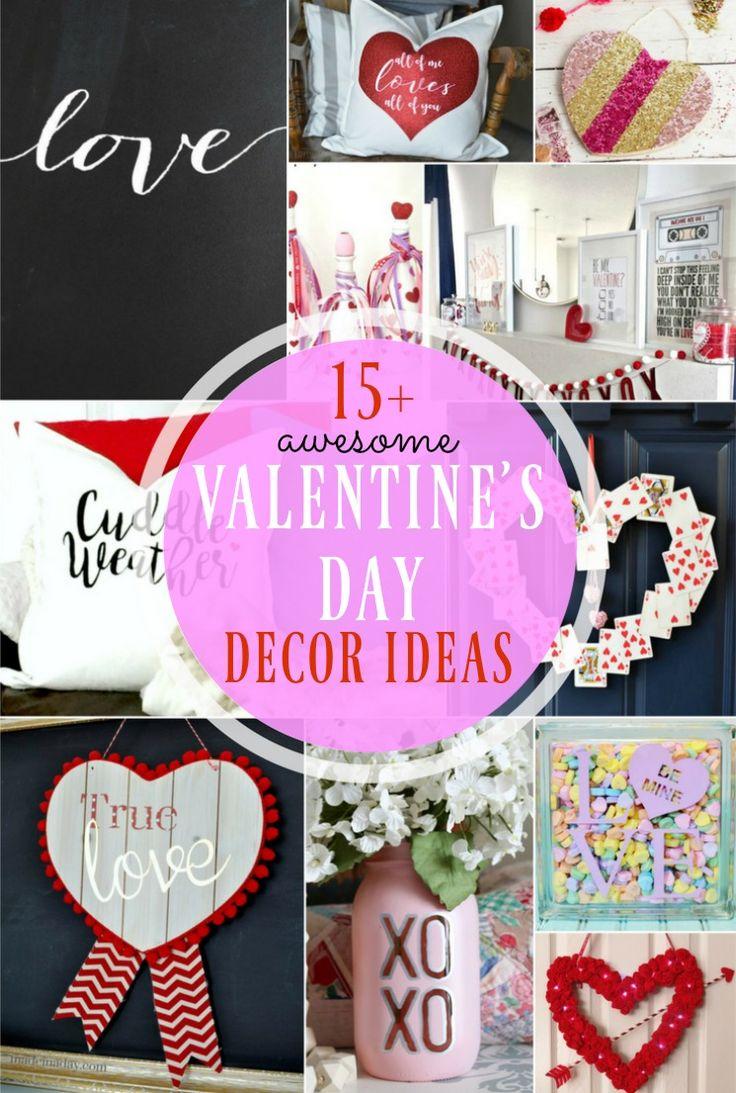 15+ Awesome Valentineu0027s Day Decor Ideas