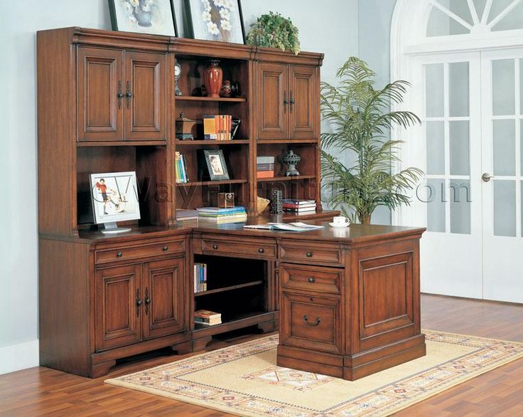 Aspenhome Warm Cherry Executive Modular Home Office: Best 25+ Modular Home Office Furniture Ideas On Pinterest