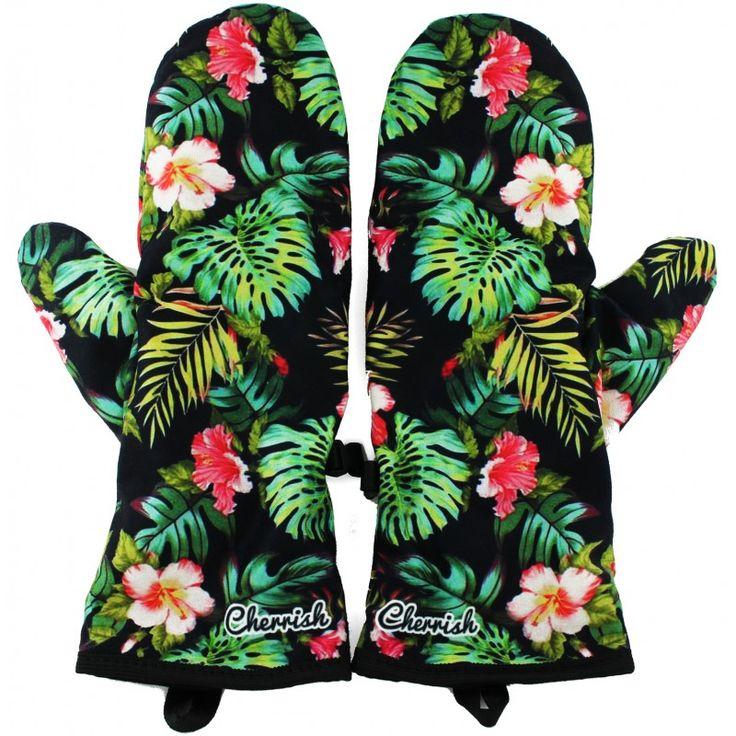 Rękawiczki Cherrish Tropiki - polscy projektanci / polish fashion designers - ELSKA