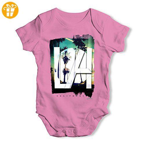 TWISTED ENVY Baby Jungen (0-24 Monate) Body Gr. XL, rose - Baby bodys baby einteiler baby stampler (*Partner-Link)