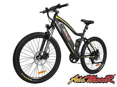 Addmotor HITHOT Electric Mountain Bike Bicycle 500W 11.6AH 27.5'' E-Bikes EB5166