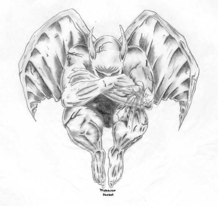 gargoyle by timmytation.deviantart.com on @DeviantArt