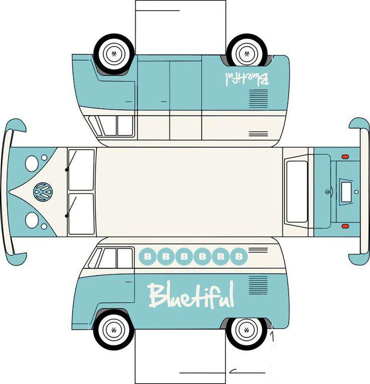 d.i.y. vw-busje | bluetiful