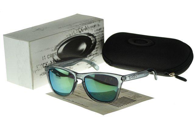 Wholesale Designer Oakley Frogskin Sunglasses crystall Frame blue Lens#Oakley Sunglasses
