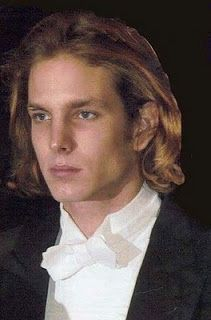 Prince Andrea Casiraghi of Monte Carlo