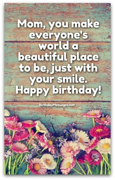 Best 25 Mom Birthday Message Ideas On Pinterest Happy Birthday How To Wish Happy Birthday To Your Crush