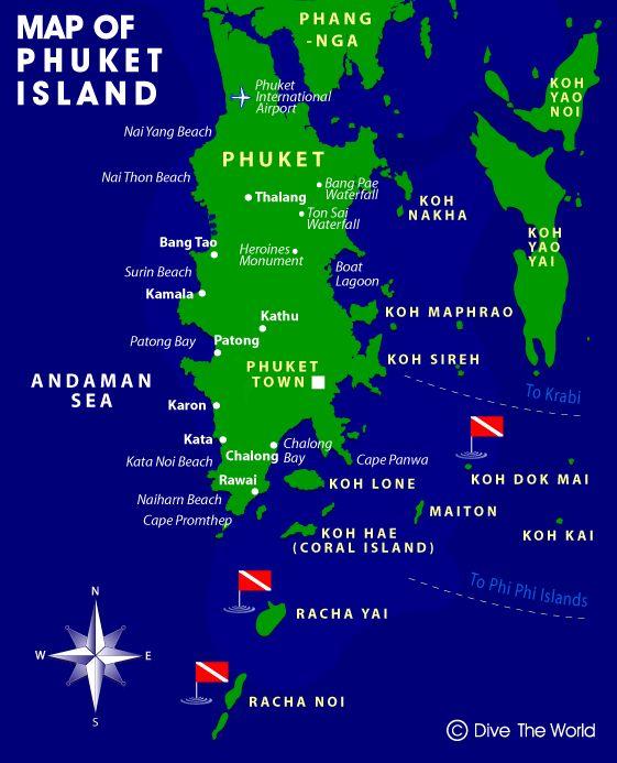 map of phuket thailand - Google Search