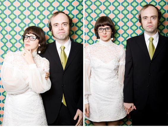 Jaren 60 Bruiloft