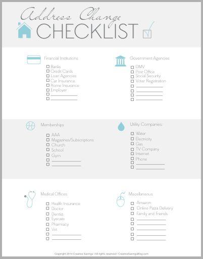 Best 25+ Moving checklist printable ideas on Pinterest