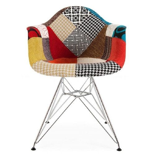 Eames patchwork chair furniture chairs fabulous chair for Fauteuil patchwork eames