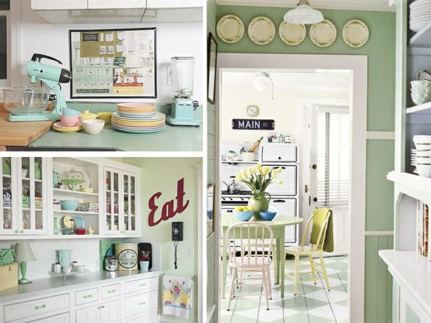 ... casa: Arredamento Anni, The Kitchen, Things To, Ambienti Vintage, Your