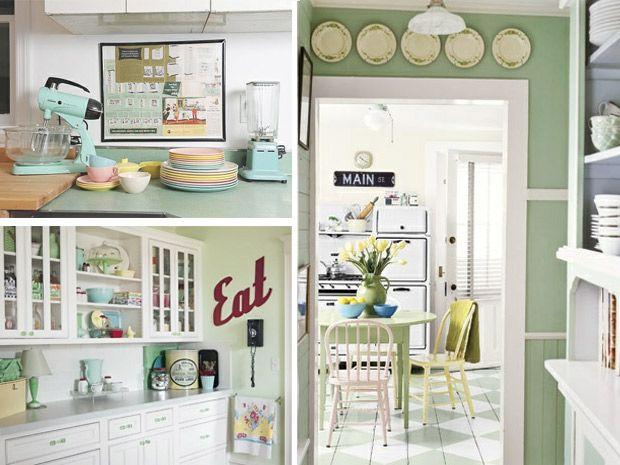 La cucina in stile anni 50 rubriche infoarredo arredamento e design per la tua casa anni - Cucina stile anni 50 ...