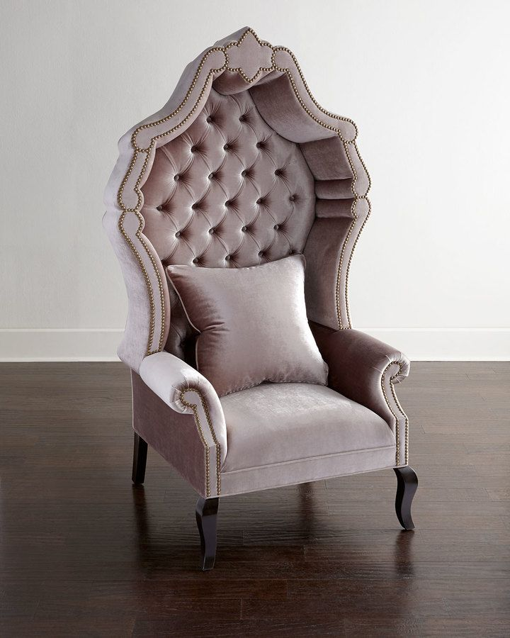 Haute House Antoinette Tufted Chair- Oh my, these were popular in the
