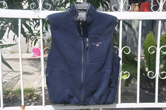 Rare Vintage Polo Sport Ralph Lauren Revesible Vest