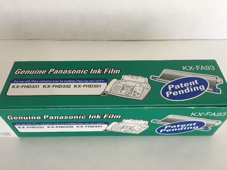 panasonic kx fhd331 fax machine