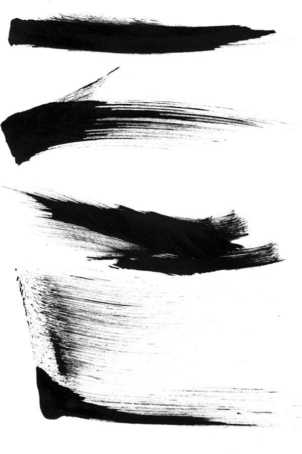 sumi ink brush strokes - Google Search