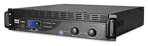 PYLE PTA3004U 3000W 2-Channel Amplifier with USB/SD Readers & Built-In Crossover. Total Power: 3000 Watt - Low Cut Switch - Thru/Low Out Jacks - Sub-Sonic (Low Cut) Filter - Overload And Protection Indicator - Combo Inputs Connector Xlr/1/4'' Phone Jack Connector. SD Memory Card & USB Flash Drive Readers - Input Level: +4dB - 4 Ohm in Bridge Mode - 2x5 LED Input Level Indicator - Thru/Low Out And High Out 1/4'' Jacks - Double-Decoder MP3 Function. Two-Speed Fan - Distortion: 1.0% - 2 Ohm...