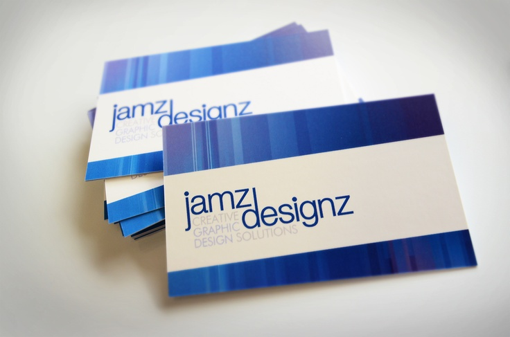 Business cards define your brand....are you happy with yours? Contact Jamz Designz for fresh, new and effective design solutions.