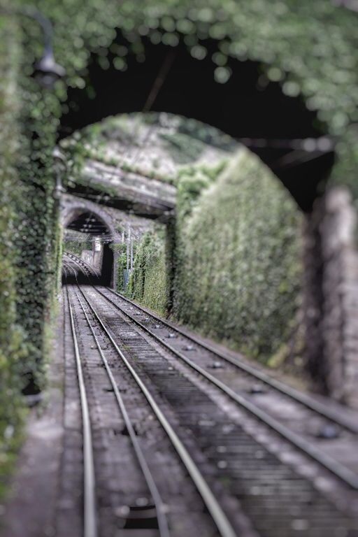 A short rail bring the visitors to the upper town of Bergamo.