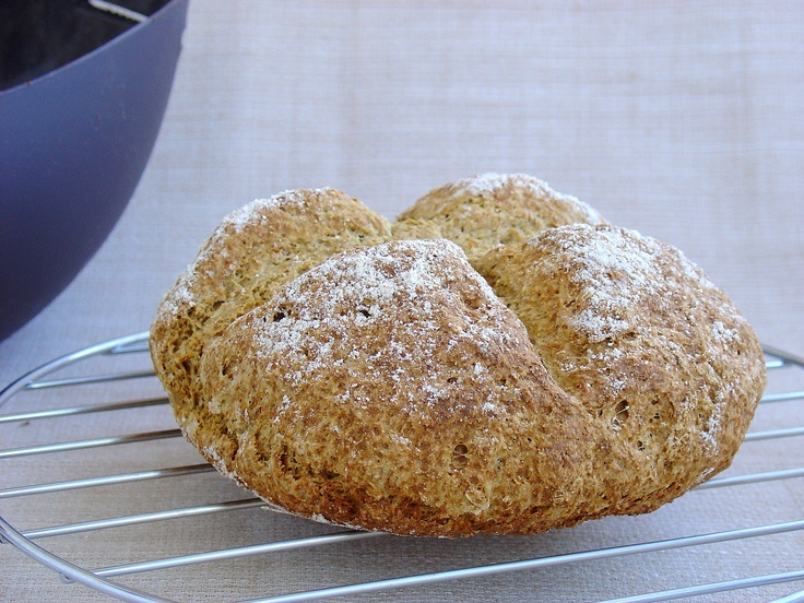 Pan de soda con harina de spelta