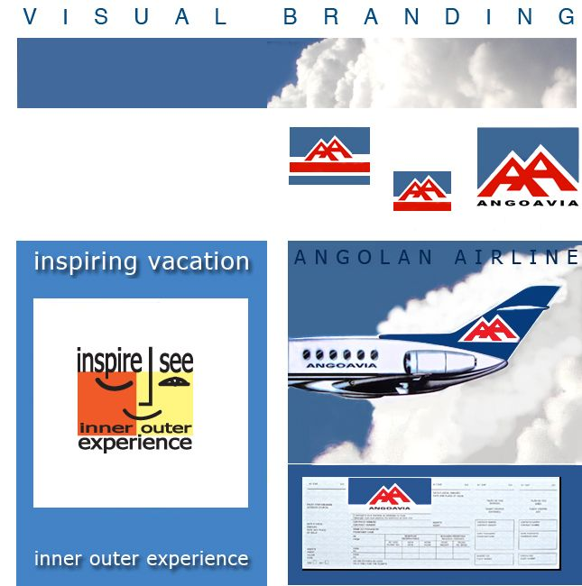 Air and Travel Company Branding