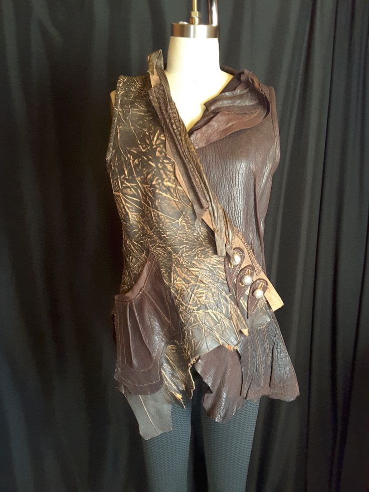 Designs are never repeated in this sculptured collection.Hides are hand picked for their stunning beauty.Size M.  Price apon request