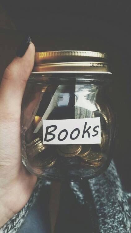 book, money, and tumblr image