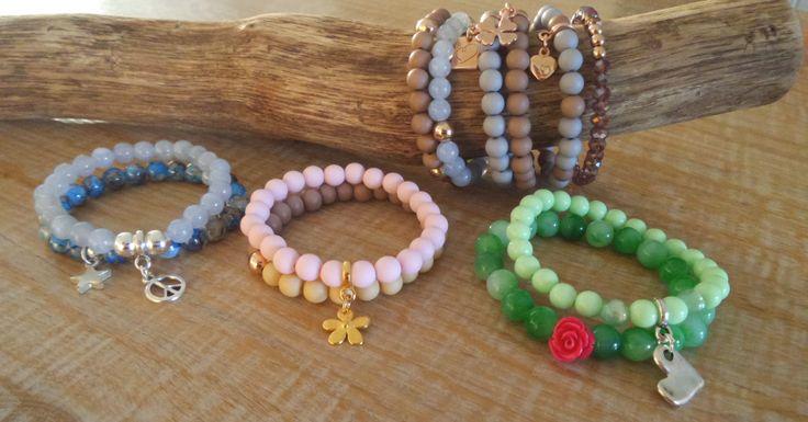 Voor trendy en originele sieraden, cadeaus voor jezelfen om te geven. Leuke armbanden in trendy kleuren.