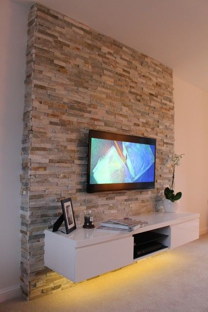 Tv wall...basement?