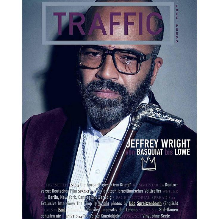 Jeffrey Wright on Traffic Magazine