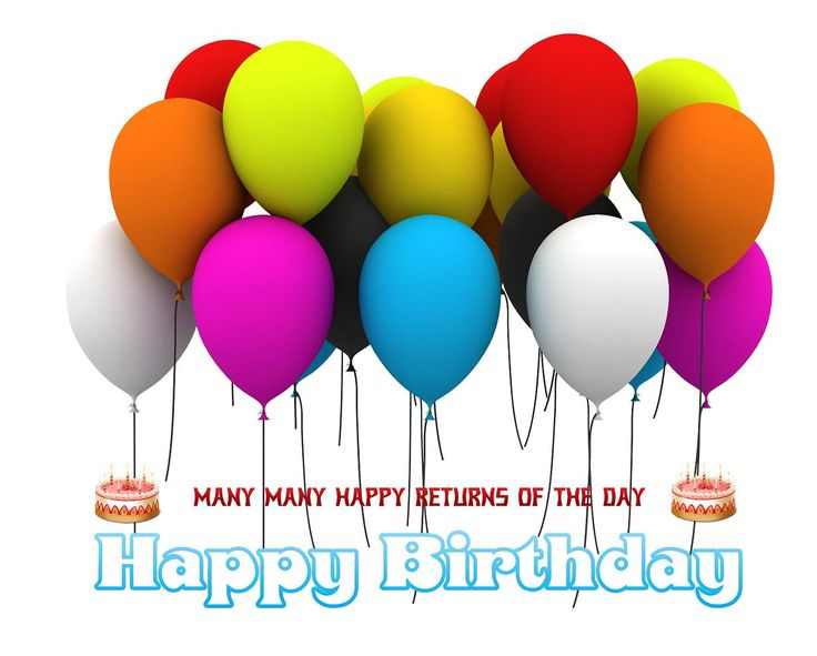 116 best images about happy birthday cards on pinterest - Happy birthday balloon images hd ...