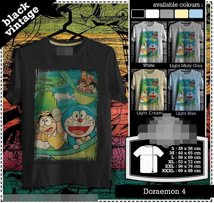 Doraemon Tshirt | Rare | Cartoon | Manga Japan | Black Vintage Tee | Kids Tshirt | Custom Tshirt | Men Women Tshirt | Gift | Soft Cotton Combed (Bio Polished) – Gramasi 190-200 gsm. Chain Stitch & Inner Strips. Cotton Spandex Rib. Unisex Model with Bodyfit Style. Original Chemica Rubber. Improved TX Superwhite. Export Quality. More than 6000 design. Promo Price $19.99 For Tshirt, Kids Tshirt, Raglan. Normal Price $24.99 Size XL-XXXL + $1.00 Shipping Fee $12.50 with Tracking Number.
