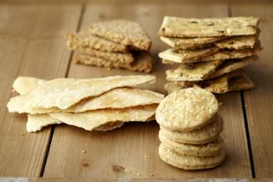 Variety of crackers - Debby Lewis-Harrison/Getty Images
