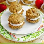 Zucchini Bread Cookie Whoopie Pies: Zucchini Breads, Breads Cookies, Cookies Whoopie, Desserts Summer, Cream Cheese, Summer Desserts, Breads Whoopie, Whoopie Pies, Iowa Girls Eating