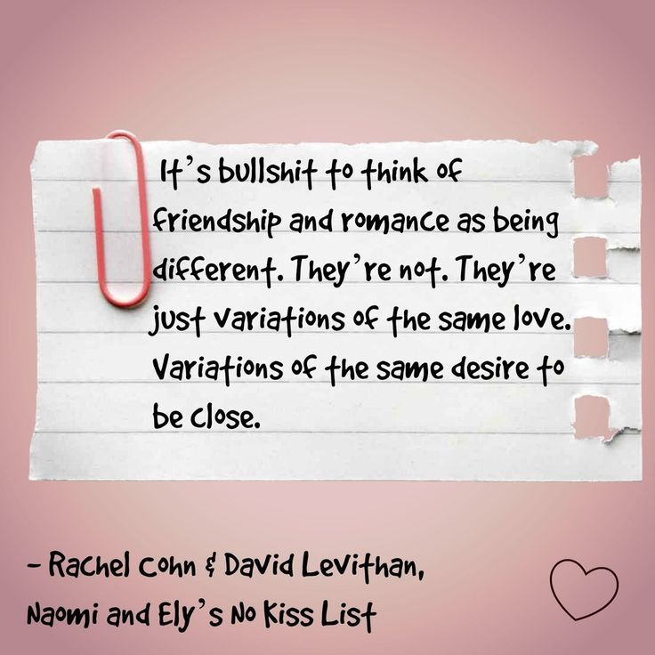 Naomi and Ely's No Kiss List, Rachel Cohn and David Levithan | 15 Book Quotes That Perfectly Describe Friendship