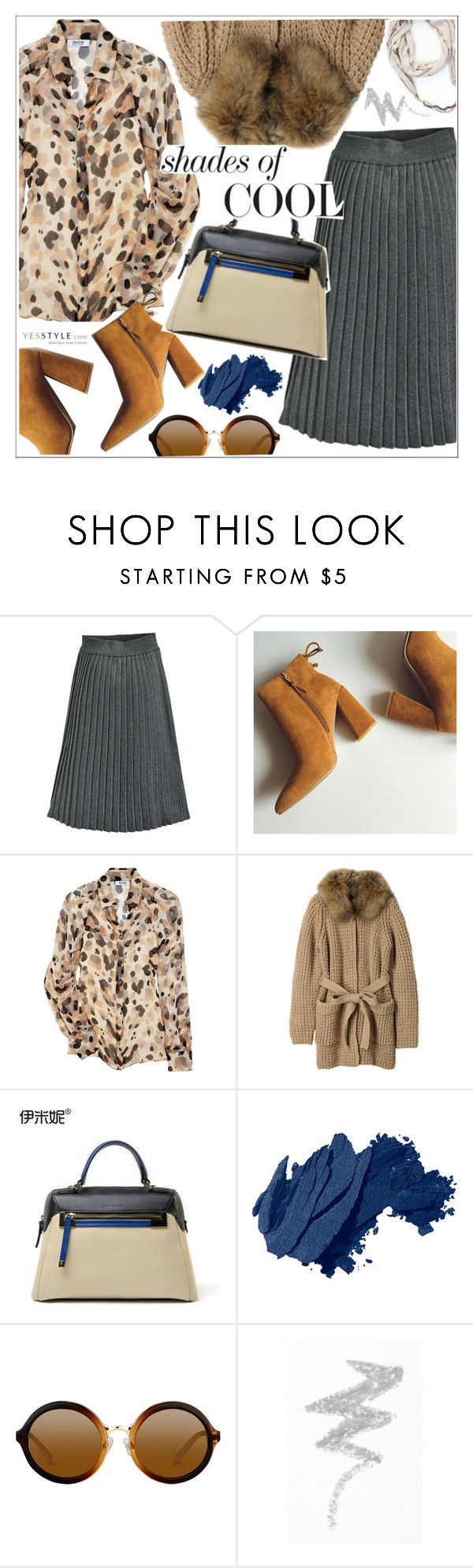 """""""YesStyle - 10% off coupon"""" by teoecar ❤ liked on Polyvore featuring Moschino Cheap & Chic, Mihoko Saito, Emini House, Bobbi Brown Cosmetics, NYX, yesstyle, prefall and productPageSectionTop"""