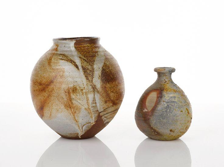 Shigeo Shiga (Japanese, 1928-2011) : Spherical Blossom Vase