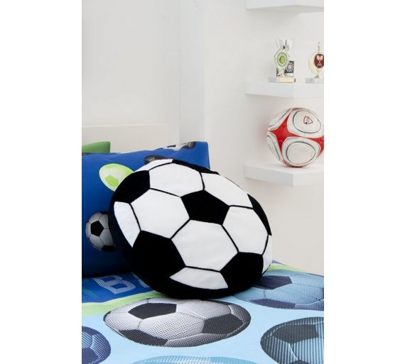 Buy Football Cushion at Argos.co.uk - Your Online Shop for Cushions, Home furnishings, Home and garden.