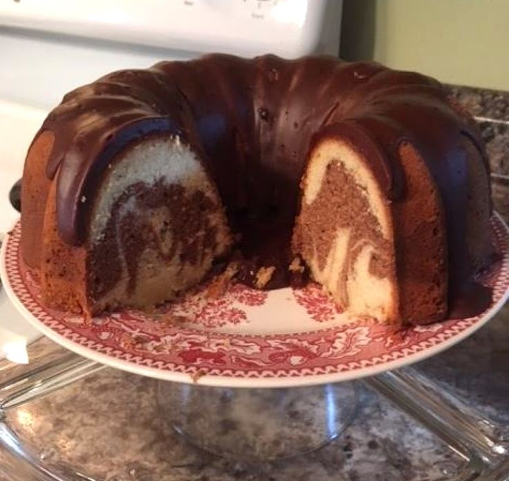 Old Fastioned Chocolate Pound Cake